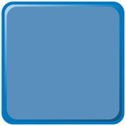 Solid Blue EZ Standard Beaded Liner
